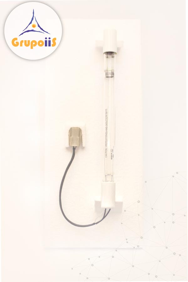 Lámpara UV para equipos TOC sieveres 500, sievers 800, sievers 900, sievers M9,Thorton, PAT 700